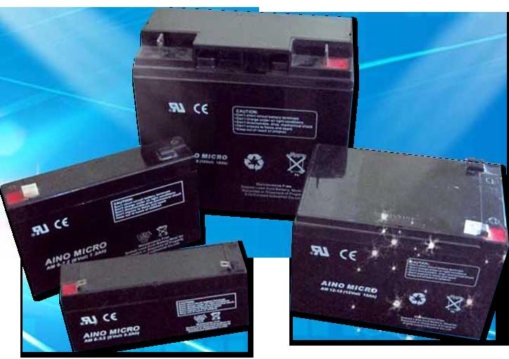 Свинцово-кислотный аккумулятор 6В, 12В, AGM VRLA необслуживаемый герметизированный