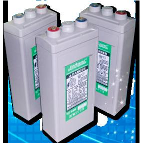 Свинцово-кислотный аккумулятор: моноблоки 2В, AGM VRLA необслуживаемый герметизированный
