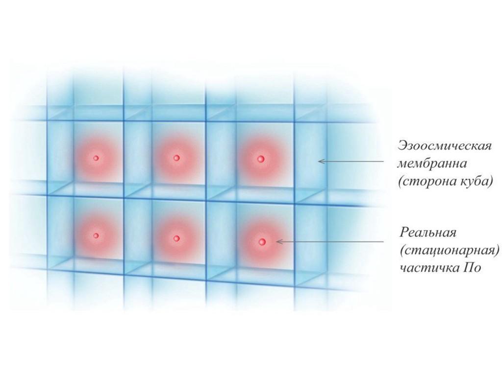 Планковская фундаментальная длина и размер эзоосмической ячейки в третьем измерении