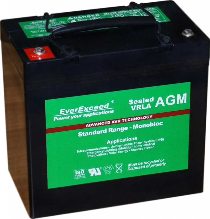 battery everexceed