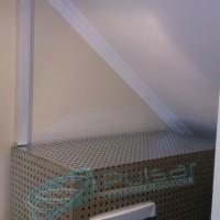 внешний вид инверторной системы в металлическом шкафу